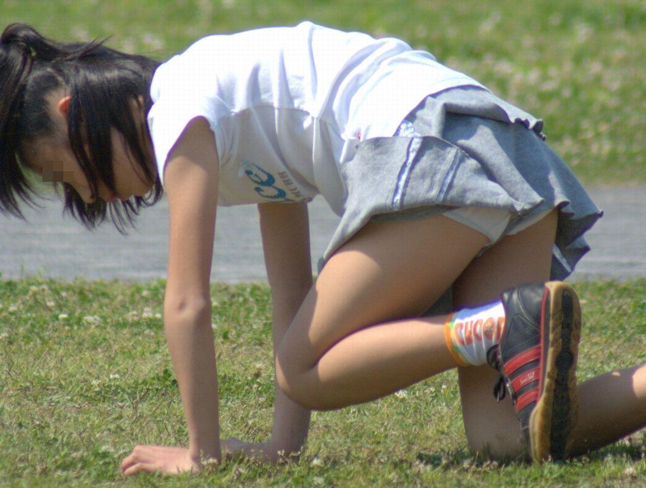 JS小学生高学年  パンチラ 盗撮 女子○学生のパンツ、パンチラ画像pt25